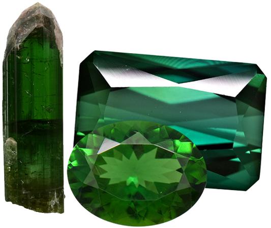 تورمالین سبز Tourmaline