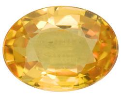 یاقوت زرد Yellow Sapphire